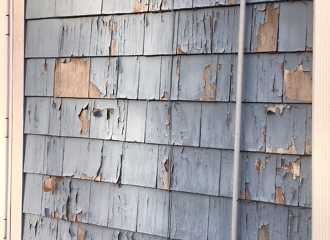 Deteriorated Lead Based Paint – Exterior Wall